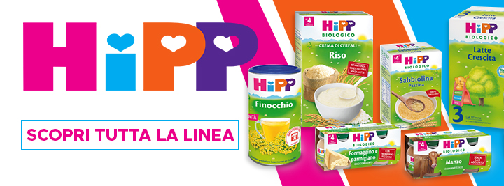 Hipp alimentazione, detergenza bambino