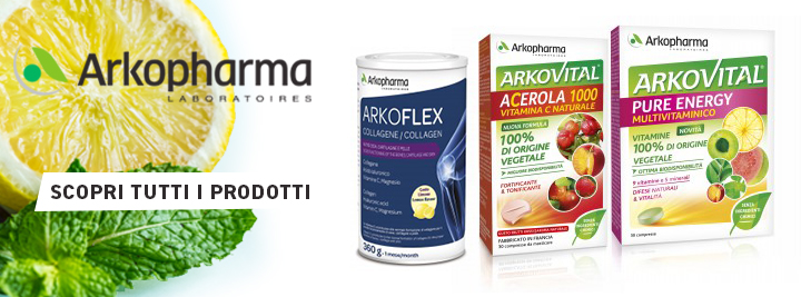 Arkopharma, rimedi naturali, piante medicinali