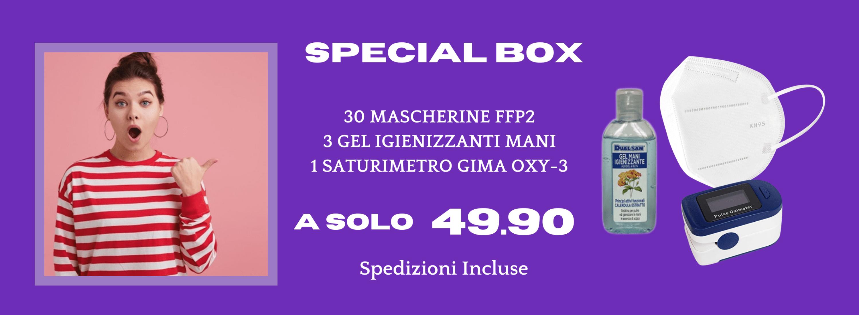 special-box-virus-covid-mascherine-ffp2-gel-igienizzante-saturimetro