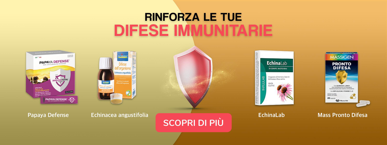 integratori difese immunitarie