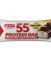 Why Sport 55 PROTEIN BAR BARRETTA ZABAIONE 55 G - Spacefarma.it