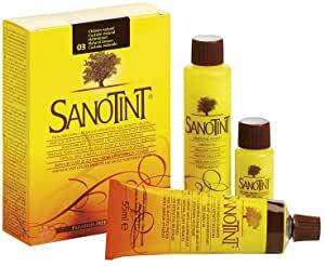 6 Confezioni  Sanotint 03 Castano Naturale 125 ml - keintegratore.com