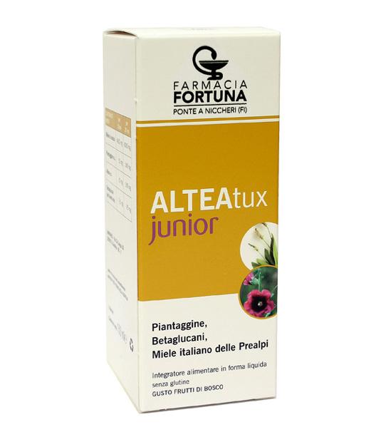 TuaFarmaOnline ALTEATux Junior Sciroppo Bambini Benessere Della Gola 150ml - latuafarmaciaonline.it