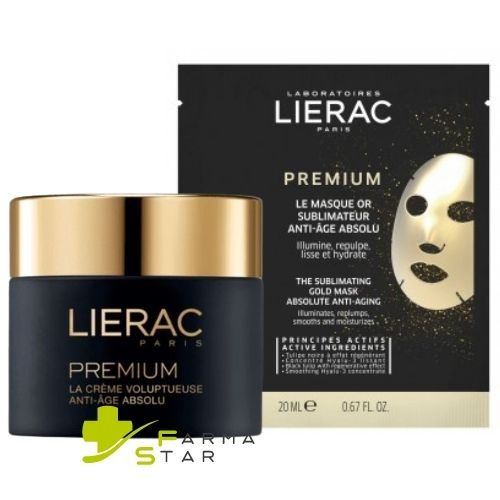 Lierac Premium La Creme Voluptueuse Viso Anti Age 50 ml - Farmastar.it