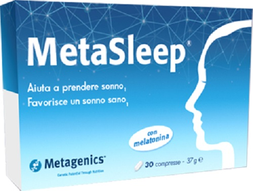 Metasleep Integratore per il sonno Metagenics 30 capsule - Farmastar.it