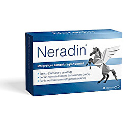 Neradin Integratore Fertilità Uomo 56 Capsule - Farmastar.it