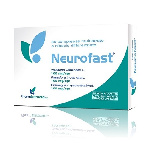 NEUROFAST INTEGRATORE SONNO STRESS 30 CAPSULE  PHARMEXTRACTA  - Farmastar.it