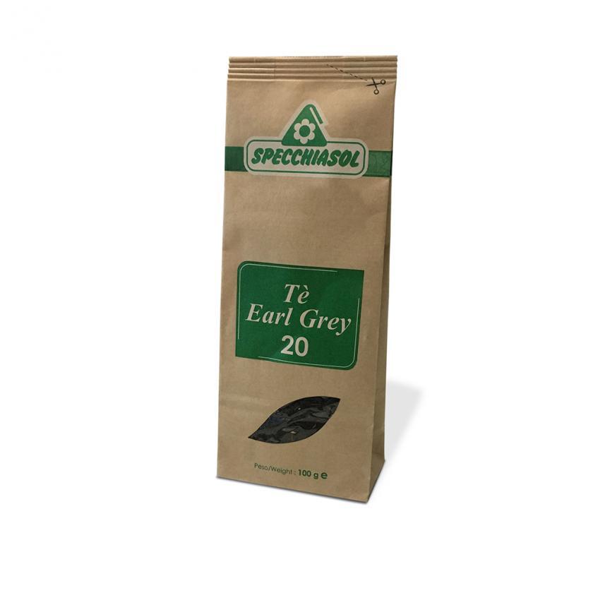 Specchiasol Tè Earl Grey Tisana Pronta 100 g - La tua farmacia online