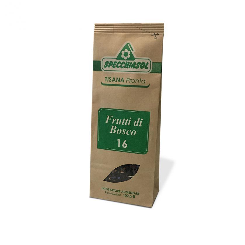 Specchiasol Frutti di Bosco Tisana Pronta 100 g - latuafarmaciaonline.it