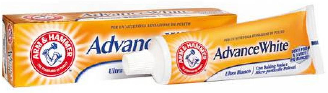 ARM&HAMMER ADVANCE WHITE ULTRA BIANCO 75 ML - Farmacia Centrale Dr. Monteleone Adriano