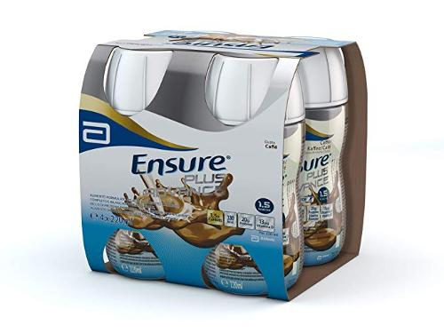 ENSURE PLUS ADVANCE CAFFE' 4 BOTTIGLIE DA 220 ML - Farmafamily.it
