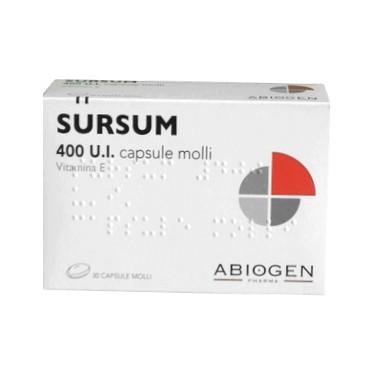 Abiogen Pharma Sursum 400 U.I. Per Carenze Di Vitamina E 30 Capsule Molli - FARMAPRIME