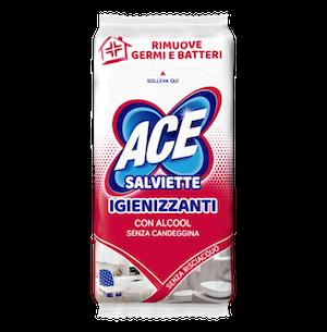ACE Salviette Igienizzanti con Alcool 40 Pezzi - Arcafarma.it