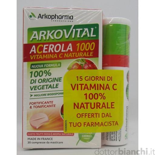 Acerola 1000 45 Cpr - La tua farmacia online