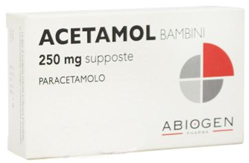 ACETAMOL*BB 10SUPP 250MG - Farmacia Centrale Dr. Monteleone Adriano