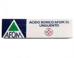 ACIDO BORICO AFOM*3% UNG 30G - Farmafirst.it