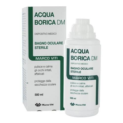 Acqua Borica Bagno Ocul 500ml - Farmafamily.it