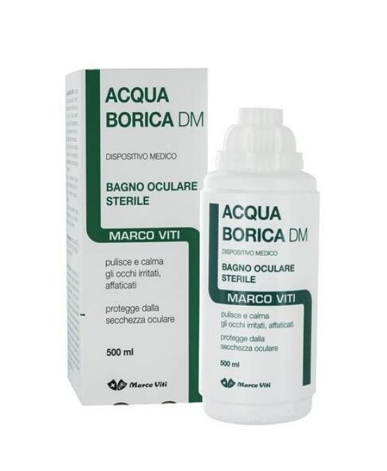 ACQUA BORICA Bagno Oculare 500ml - Farmapage.it