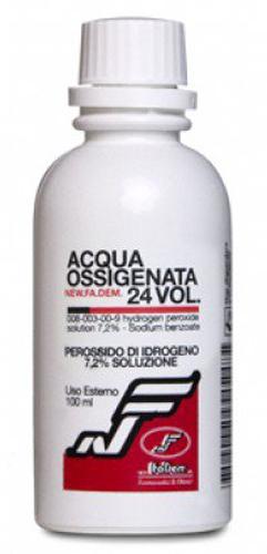 ACQUA OSSIGENATA 24 VOLUMI 100 ML - Farmacia Centrale Dr. Monteleone Adriano