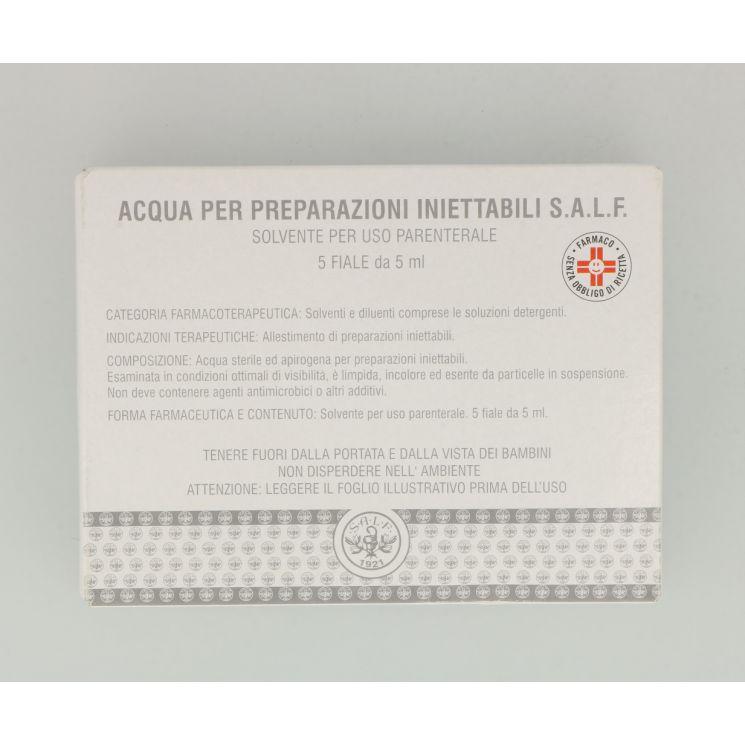 ACQUA PI SALF*5F 2ML - Parafarmacia la Fattoria della Salute S.n.c. di Delfini Dott.ssa Giulia e Marra Dott.ssa Michela