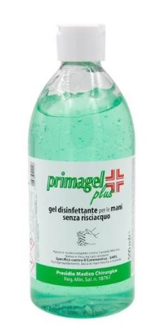 ACQUISTO MINIMO 12 PZ GEL DISINFETTANTE  PRIMAGEL PLUS 500ML PREZZO CAD.1 - Farmacia 33