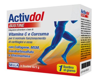 ACTIVDOL CARTILAGINI E ARTICOLAZIONI 14 BUSTINE DA 5 G - Iltuobenessereonline.it