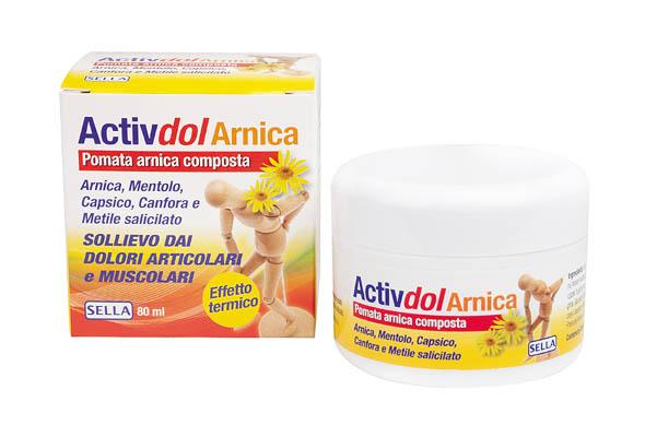 ACTIVDOL POMATA ARNICA COMPOSTA 80ml - Iltuobenessereonline.it