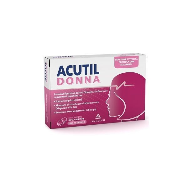 ACUTIL DONNA 20 COMPRESSE - Farmapage.it