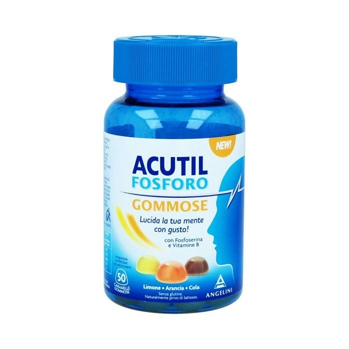 ACUTIL FOSFORO 50 CARAMELLE GOMMOSE - Speedyfarma.it