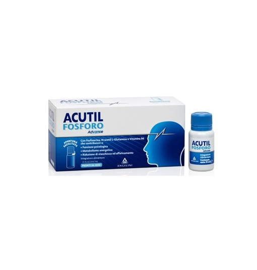 ACUTIL FOSFORO ADVANCE 10 FLACONCINI - Farmapage.it