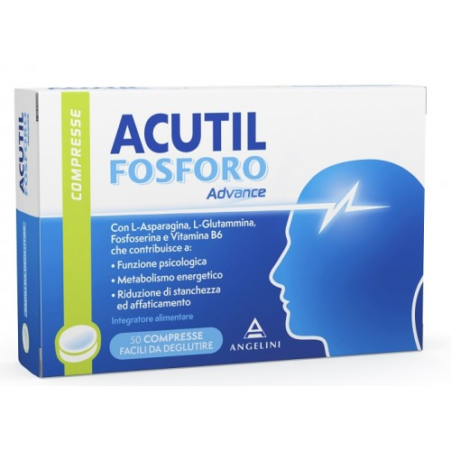 ACUTIL FOSFORO ADVANCE INTEGRATORE ALIMENTARE 50 COMPRESSE - Farmafamily.it