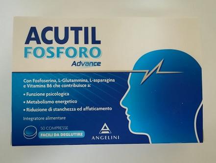Acutil Fosforo Advance Integratore Alimentare 50 Compresse - FARMAEMPORIO
