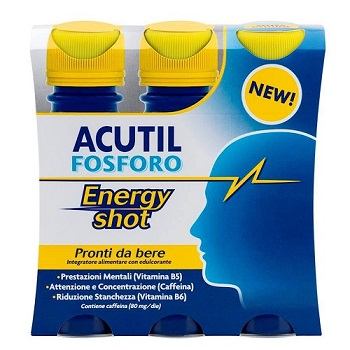 ACUTIL FOSFORO ENERGY SHOT 3 X 60 ML - Nowfarma.it