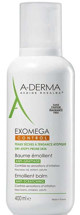 ADERMA A-D EXOMEGA CONTROL BALSAMO 400 ML - Farmacia Centrale Dr. Monteleone Adriano