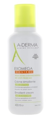 A-Derma Exomega Control D.E.F.I Crema Emolliente Pelli Secche 400 ml - latuafarmaciaonline.it