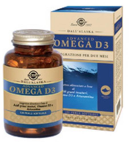 ADVANCED OMEGA D3 120 PERLE SOFTGELS - Farmacia Centrale Dr. Monteleone Adriano