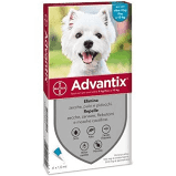 ADVANTIX 4 PIPETTE PER CANI 4-10 KG - La farmacia digitale