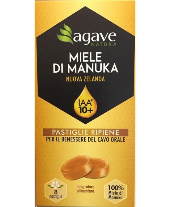 Agave Natura Manuka IAA 10+ e Limone 8 Pastiglie - Arcafarma.it