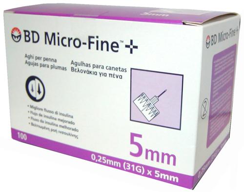 AGO PER PENNA DA INSULINA BD MICROFINE GAUGE 31 5 MM 100 PEZZI - Farmacia Centrale Dr. Monteleone Adriano