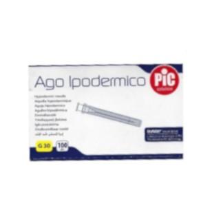 AGO PIC GAUGE 30X0,5 CONO LUER LOCK 100 PEZZI - Speedyfarma.it