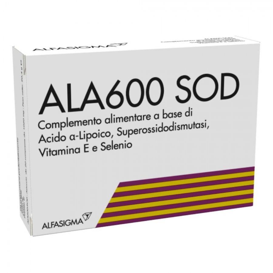 ALA600 SOD 20 COMPRESSE - Farmaci.me