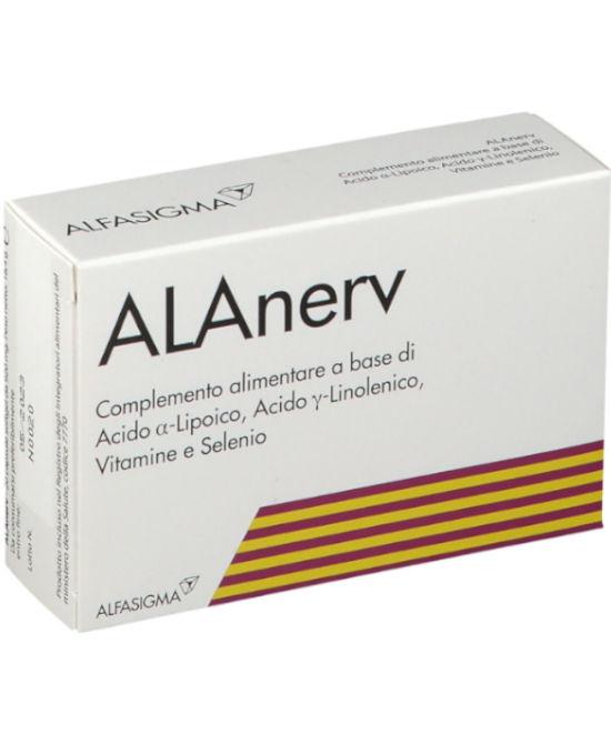 ALANERV 20 CAPSULE SOFTGEL - Farmaci.me