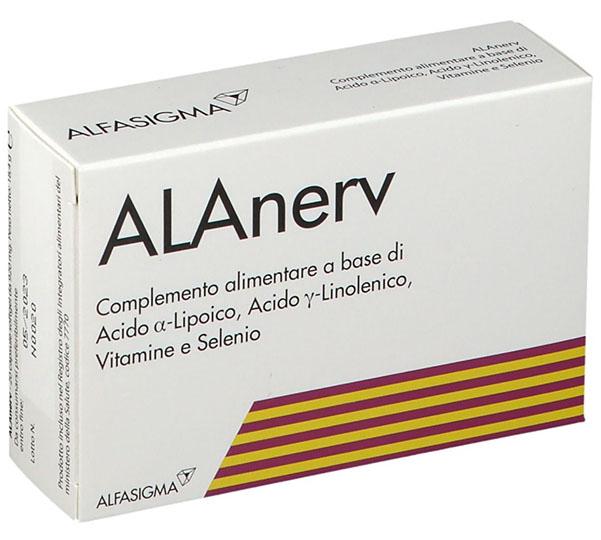 ALANERV 20 CAPSULE SOFTGEL - FARMAEMPORIO