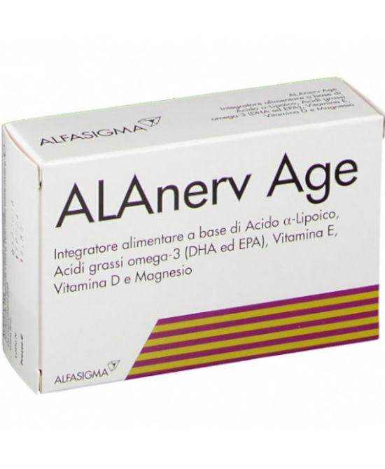ALANERV AGE 20 CAPSULE SOFTGEL - Farmaci.me