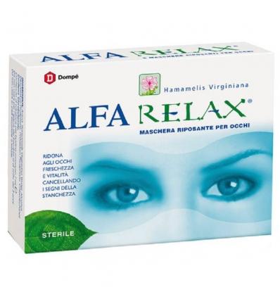 ALFARELAX MASCHERA RIPOSANTE OCCHI 6 BUSTINE X 7 ML - Arcafarma.it