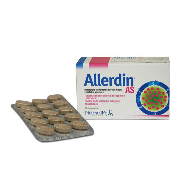 ALLERDIN AS 45 COMPRESSE - DrStebe