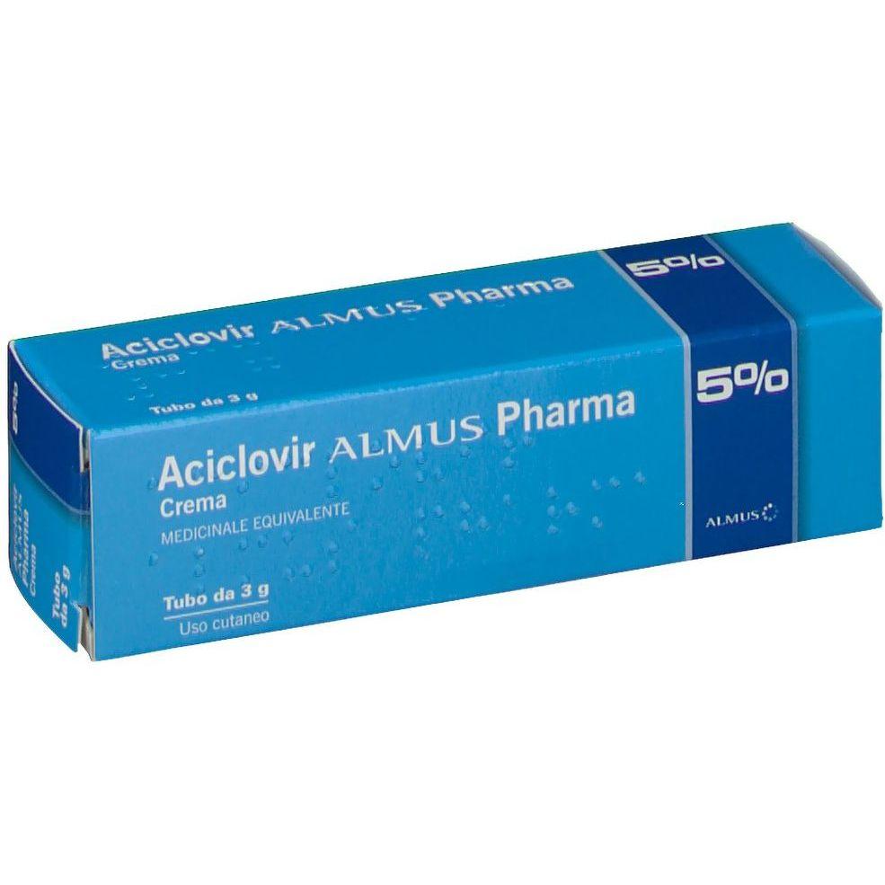 ACICLOVIR ALM*CREMA 3G 5% - Farmafamily.it