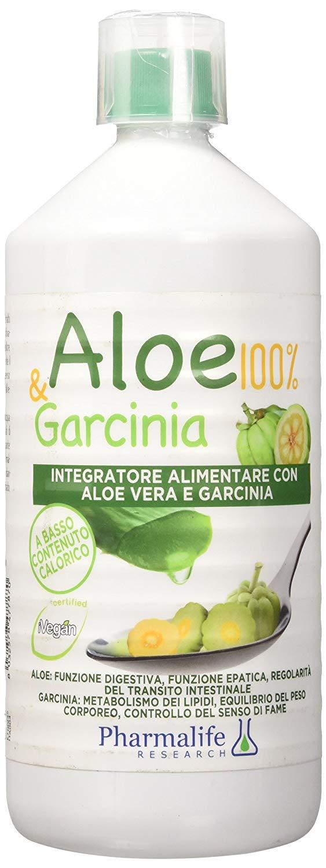 ALOE & GARCINIA 1 LITRO - Parafarmaciabenessere.it