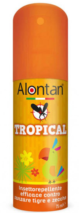 ALONTAN TROPICAL SPRAY 75 ML - Farmacia Centrale Dr. Monteleone Adriano