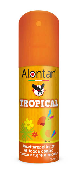 ALONTAN TROPICAL SPRAY 75 ML - Iltuobenessereonline.it